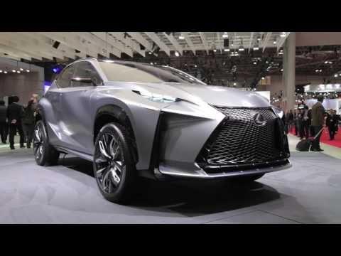 2014 Lexus LF-NX Turbo Concept - 2013 Tokyo Motor Show