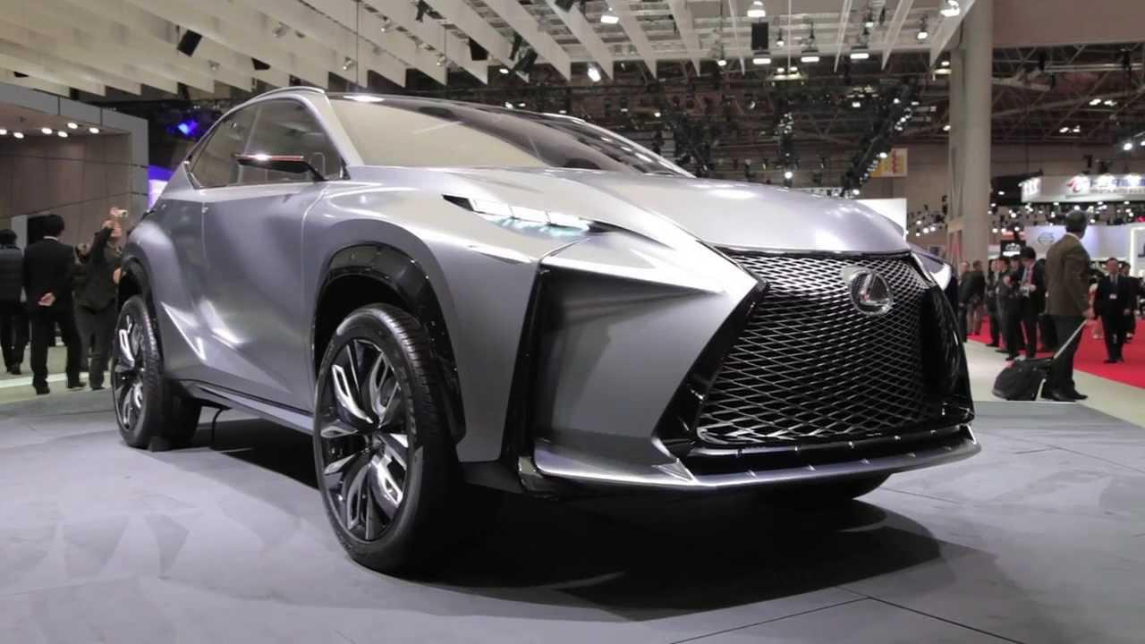 2014 Lexus LF-NX Turbo Concept - 2013 Tokyo Motor Show - YouTube