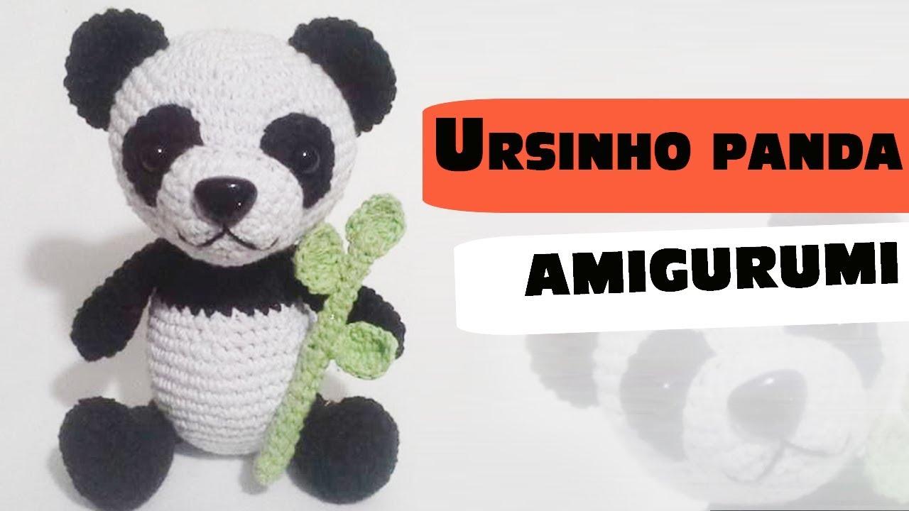 Urso Panda Amigurumi no Elo7 | Crocheteria da Maria (C2508A) | 720x1280