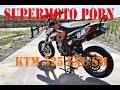 KTM 525 EXC SUPERMOTO | STUNT BIKE | LEXX MX EXHAUST PIPE | SUPERMOTO PORN