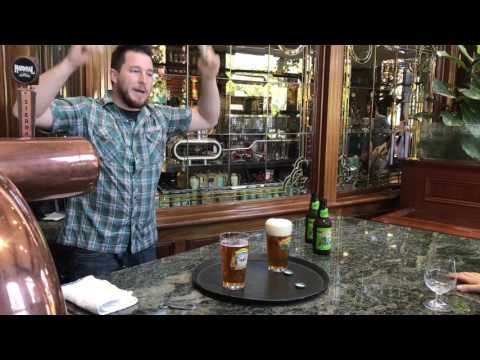 Beer Pour Experiment at Sierra Nevada Brewery