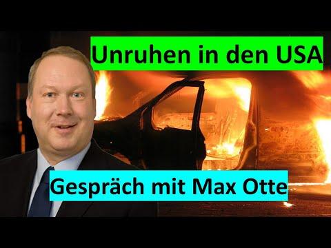 MAX OTTE zu den aktuellen Unruhen in den USA