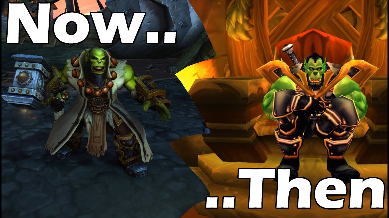 Classic vs Current WoW: Faction Leaders THEN and NOW !!