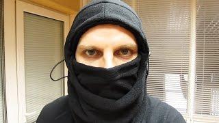 Шапка, маска, балаклава из флиса Video