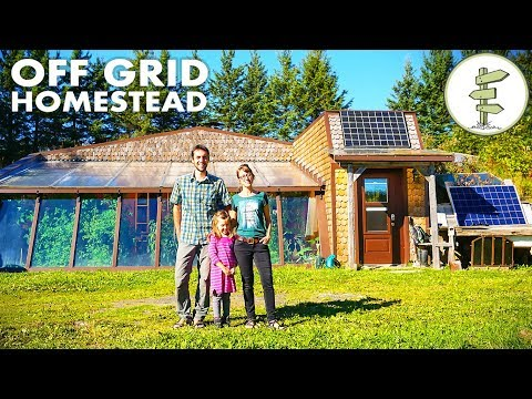 Homesteading Family Living OffGrid in a Spectacular Earthship