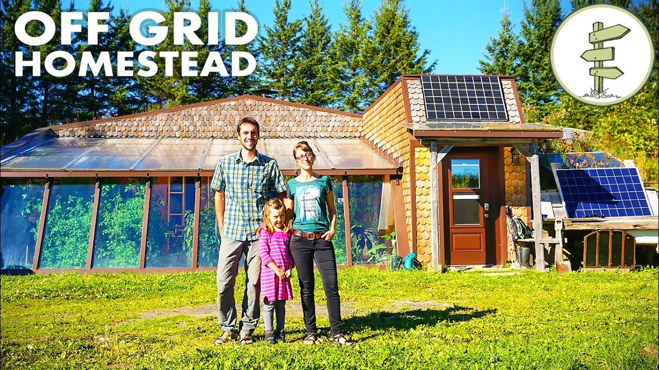 Attrayant Homesteading Family Living Off Grid In A Spectacular Earthship