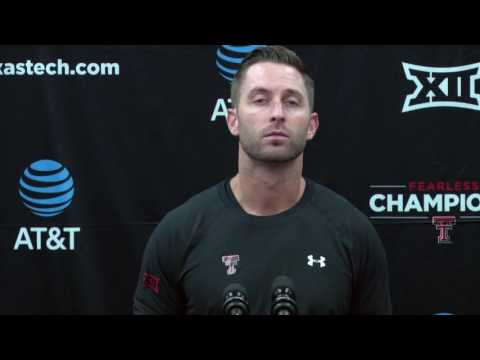 Kliff Kingsbury Monday Presser: Kansas