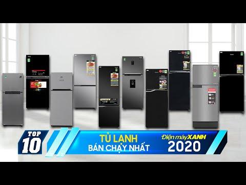 Top 10 tủ lạnh bán chạy nhất Điện máy XANH 2020