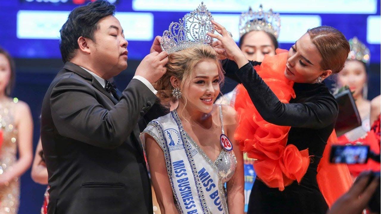 BẤT NGỜ : Ngân 98 đoạt giải Á hậu Doanh nhân sắc đẹp Toàn cầu 2019 sau ồn ào với Lương Bằng Quang