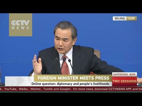 【V观】China's FM talks about how China's diplomacy affects ordinary people 王毅外长回答网友提问:外交跟老百姓有啥关系?