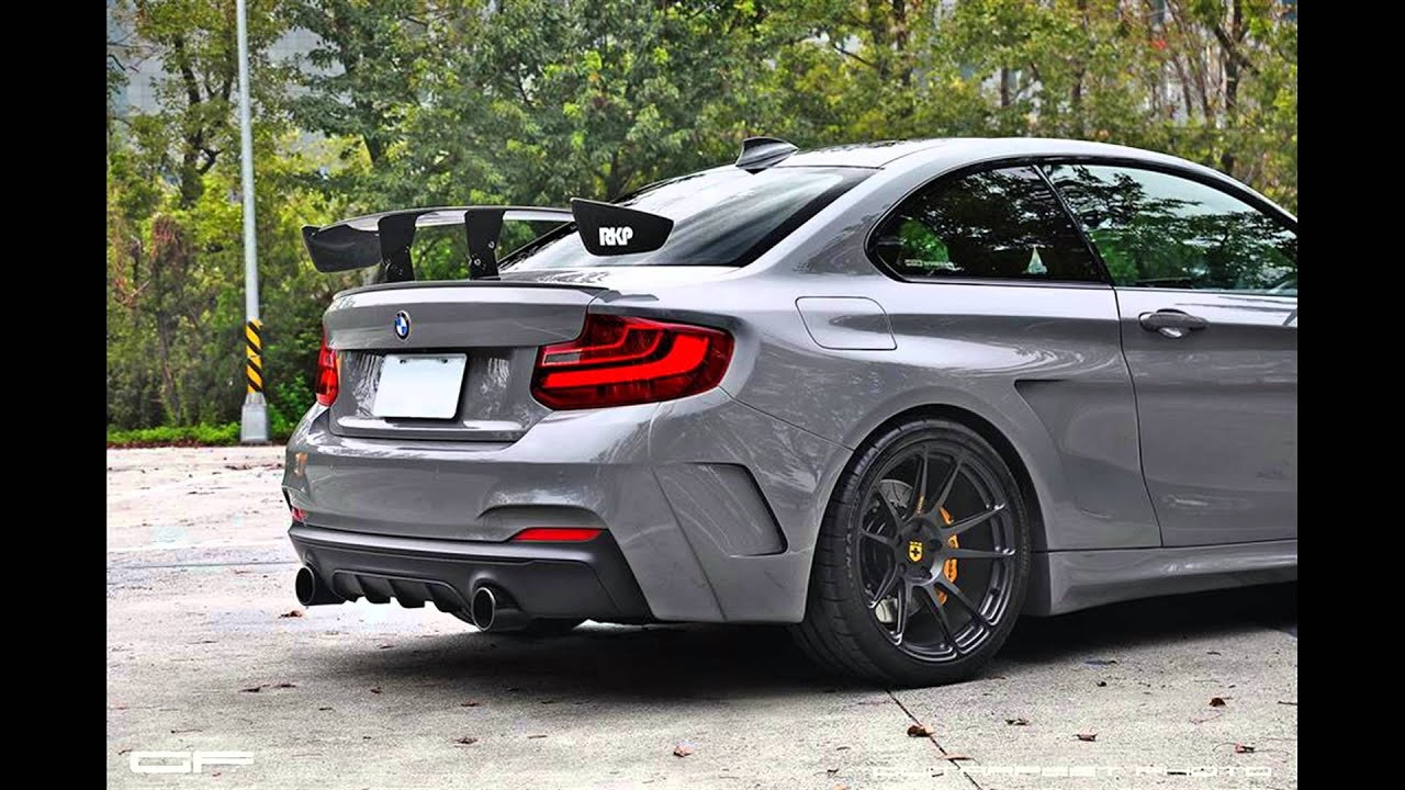 Bmw 440i Coupe >> Fotoserie Tuning Manhart Performance Breitbau BMW M235i Coupe F22 - YouTube