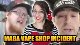Vape Shop Clerk Refuses Trump Supporter, Gets Fired | Xhale City Vape
