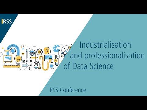 Industrialisation & professionalisation of Data Science