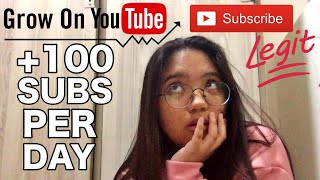 HOW TO GAIN 100 SUBSCRIBERS IN A DAY (SUBSCRIBERS HACK) - 100% LEGIT (2020)