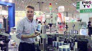 Bottle Labeling Machine and Unscrambling Machine by KWT at Taipei Plas 2016