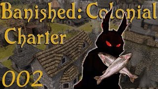 banished colonial charter 1 6 ep 2    fish thief    let s play gameplay forge awakens 1080p