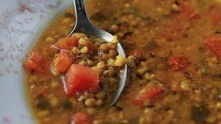 Таматар мунг-дал (Суп из маша с помидорами)
