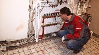 Как устроен водяной теплый пол в Пентхаусе