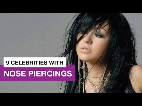 9 Celebrities with Nose Piercings