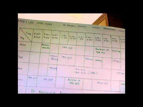AKW 103 Class Timetable