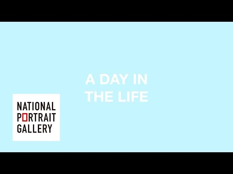 A day in the life of the National Portrait Gallery