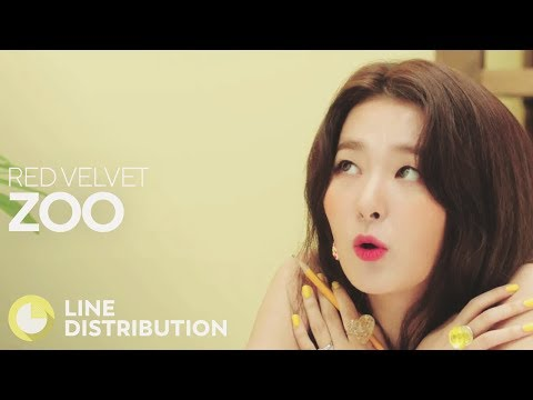RED VELVET - Zoo (Line Distribution)