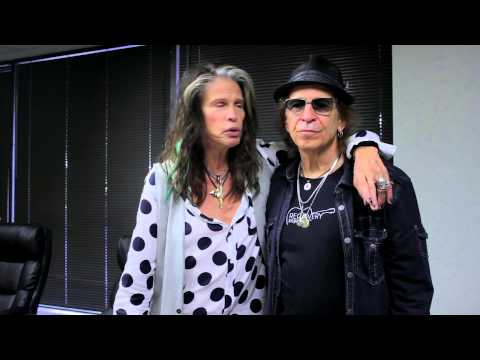 Steven Tyler talks about Recovery Unplugged with Richie Supa