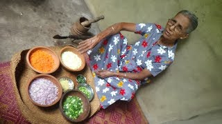Vegetable Rolls prepared by Grandma | Village Food