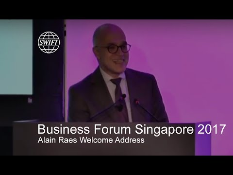Business Forum Singapore 2017 - Alain Raes Welcome Address