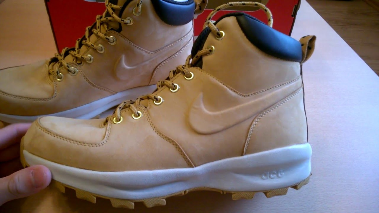 sale retailer aecad 553be UNBOXINGbutów shoes DRAKE-a Nike Manoa Leather ACG 454350-700