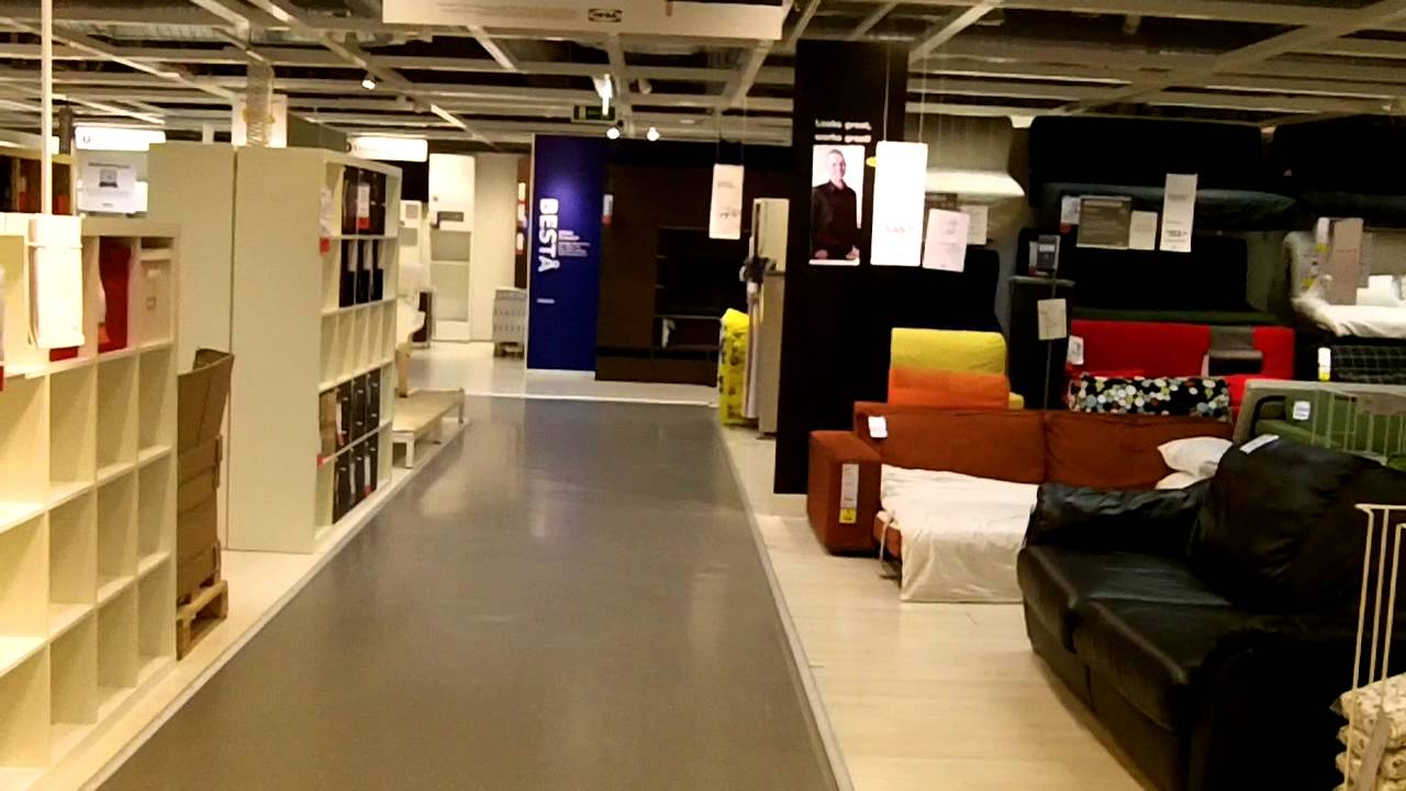Walking through ikea near closing time youtube for What time does ikea close