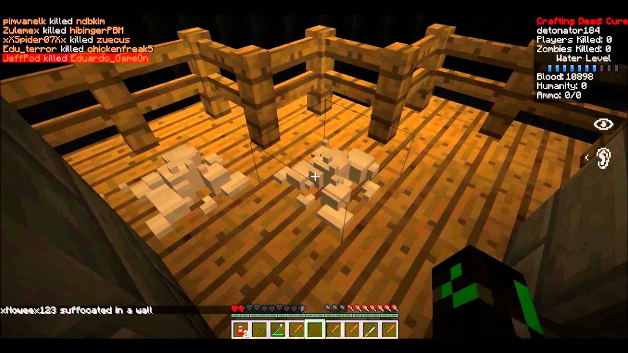 The crafting dead server minecraft mod pack youtube for Minecraft crafting dead servers