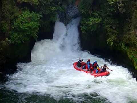 Rafting Down 7-metre Okere Falls Along Kaituna River