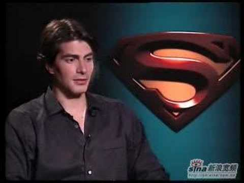 brandon routh interviewed by sina.com