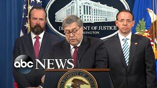 Attorney General releases redacted version of Mueller report