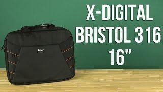 Розпакування X-Digital Bristol 316 16'' Black ABR316B