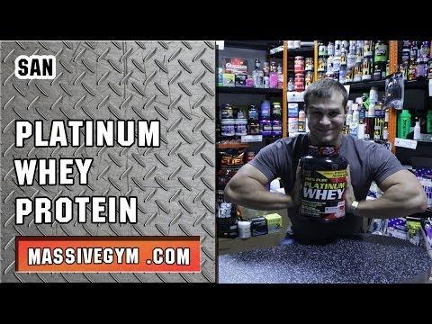 MG Обзор - Протеин Platinum Whey (SAN) - MassiveGym.com