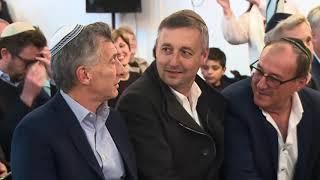 El Presidente Macri mantuvo un encuentro con miembros de la comunidad judía en Entre Ríos.