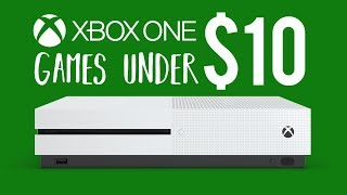 Best Xbox One Games UNDER $10 (Cheap Xbox One Games)