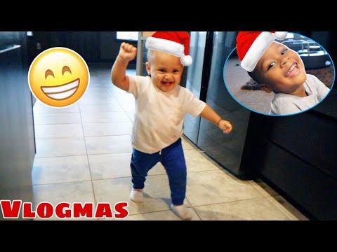 CJ IS WALKING FT AYDEN IS BACK!! | VLOGMAS DAY 1