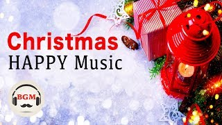 Christmas Happy Music - Happy Jazz & Bossa Nova BGM - Background Jazz Music