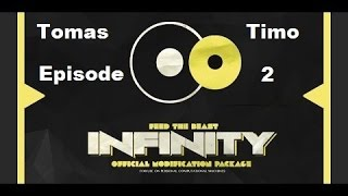 FTB Infinity ep 2 A Tree farm that eat my house!!!
