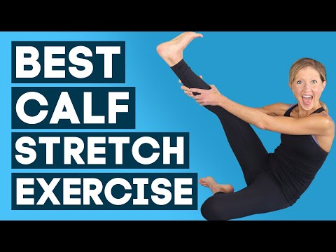 Best Calf Stretch Exercise Routine To Relieve Tightness (INSTANTLY!!)