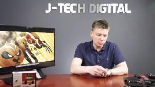 J-Tech Digital 3 Port HDMI 3x1 Powered Switch
