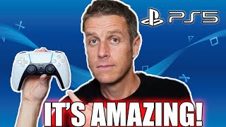 Geoff Keighley Shows Off The PlayStation 5's DualSense Controller, And It Seems Awesome!
