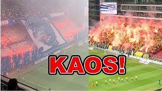 FCK VS BIF! KAOS, MÅL, ROMERLYS & TIFO!