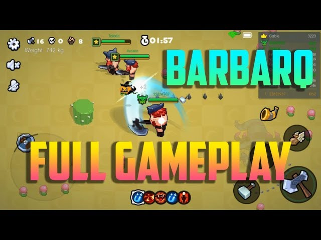 BARBARQ FULL GAMEPLAY  (Android/ iOS)