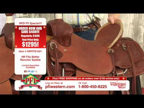 HR Rancher Saddles