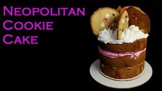 Neapolitan Cookie Cake