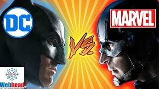 MARVEL VS. DC Crossover Movie! Could it Happen? | Webhead